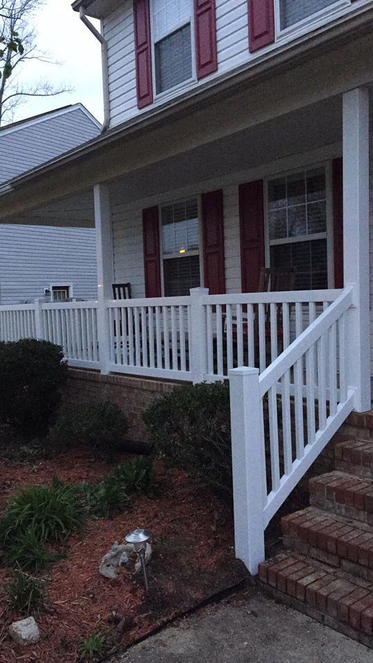 deck railings hampton va