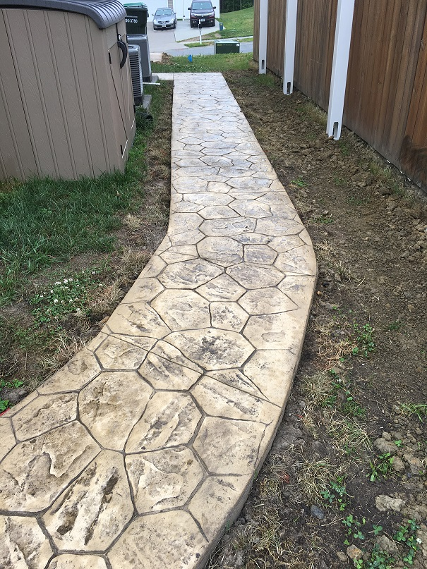 concrete sidewalks newport news