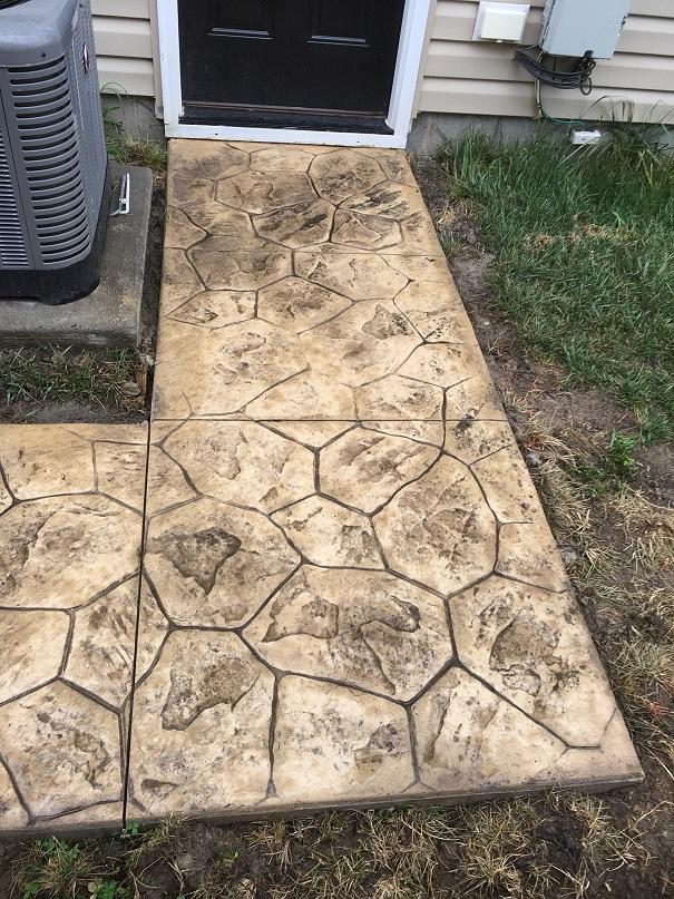 concrete walkway chesapeake va