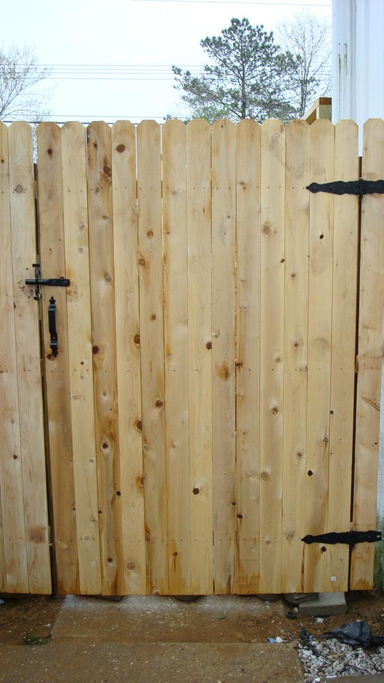 wood fence company chesapeake va