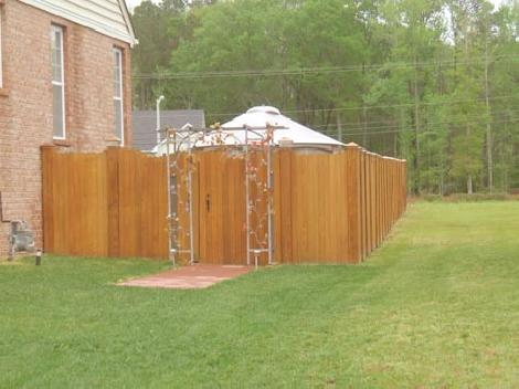 wood fencing suffolk va