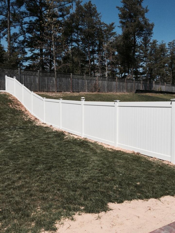 white vinyl fencing hampton roads