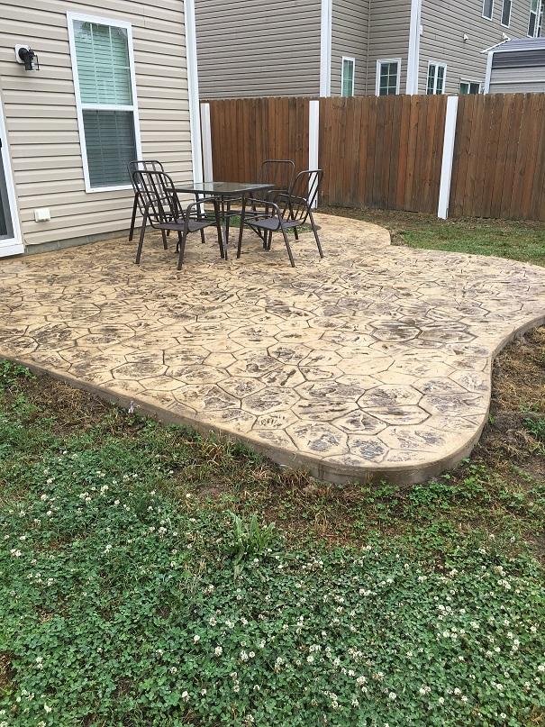 concrete patios newport news