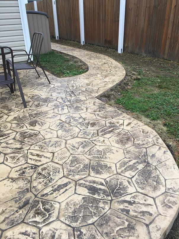 concrete patios chesapeake