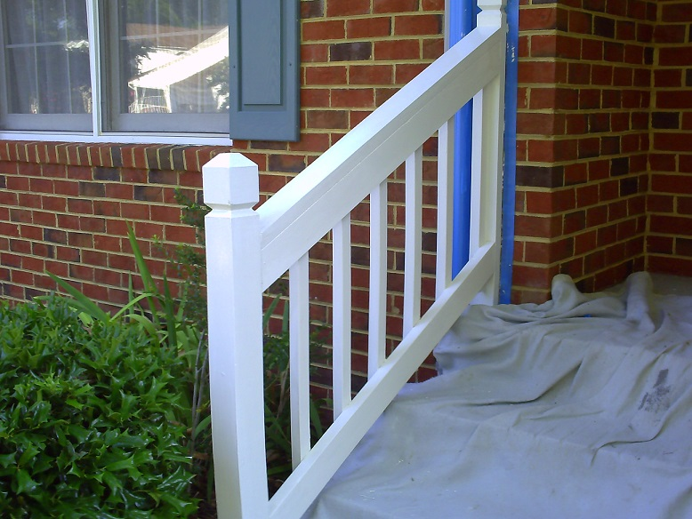 step railing builder hampton roads