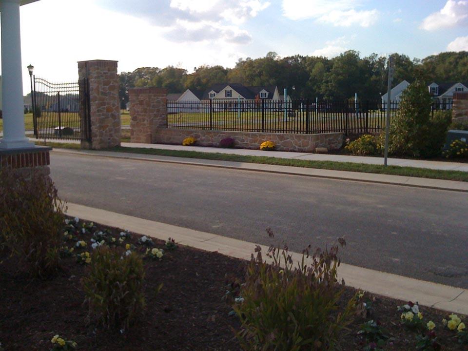 concrete fencing hampton roads