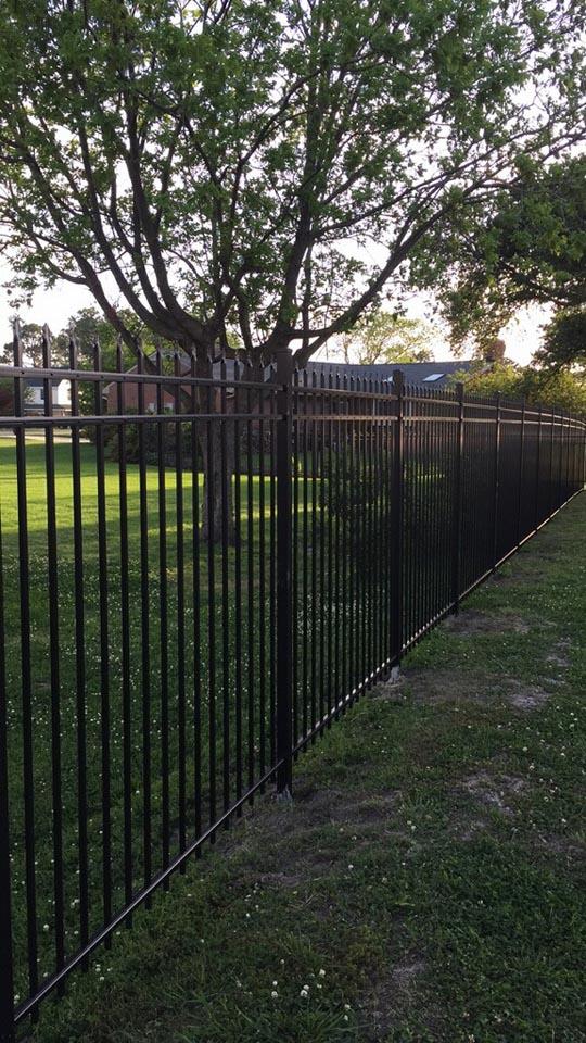 steel fencing newport news
